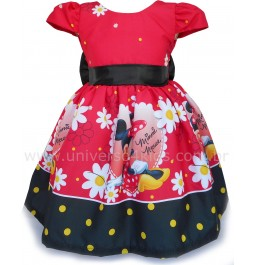Vestido Minnie Vermelha