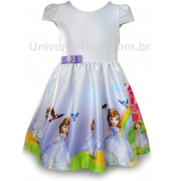Vestido Princesa Sofia Infantil